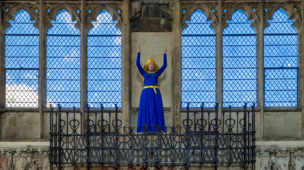 The Blessed Virgin Mary by David Wynnein the Lady Chapel