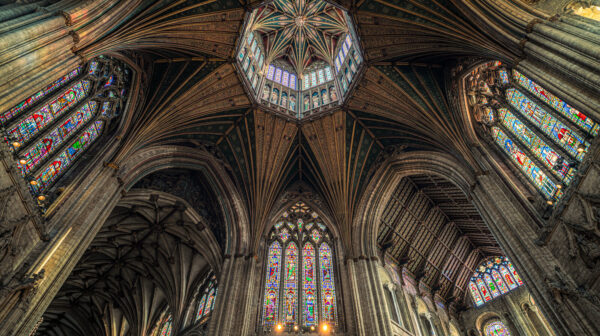 The Octagon Tower at Ely Cathedral
